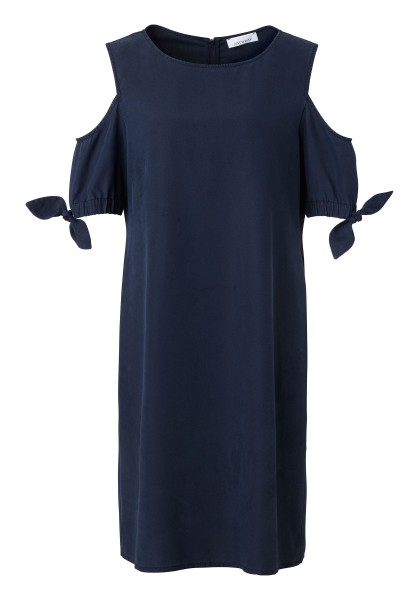 Kleid mit Cut-Out-Shoulder