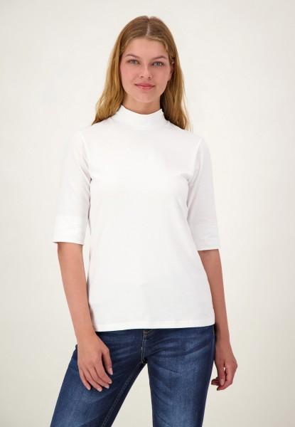 Halbarm Shirt mit Rollkragen von justWhite