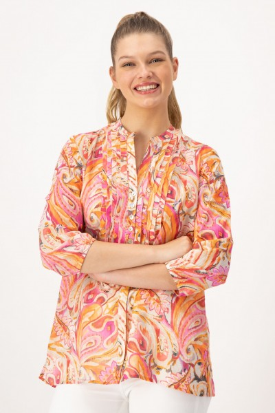 Damen Tunika aus 100 % Baumwolle von JUST WHITE