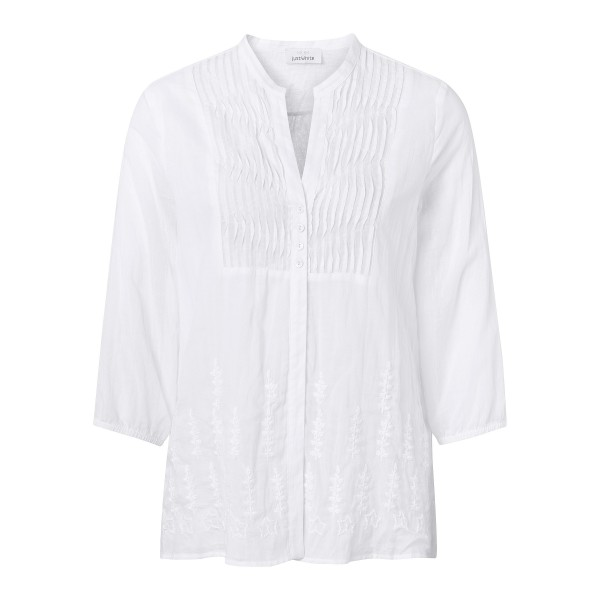 Lässige Tunika für Damen aus reiner Baumwolle von JUST WHITE