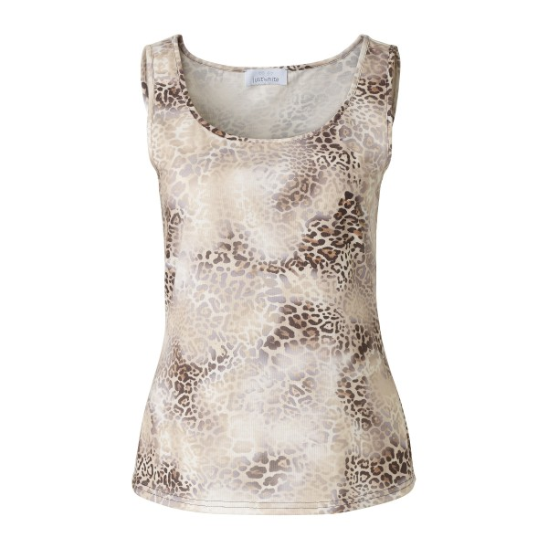 Top mit Leoprint
