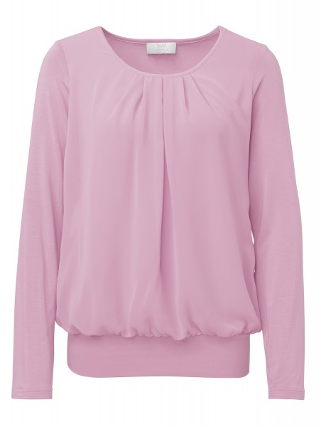 Shirtbluse in Rosa