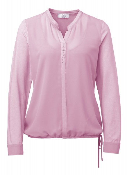 Two-in-One Shirtbluse in Rosa