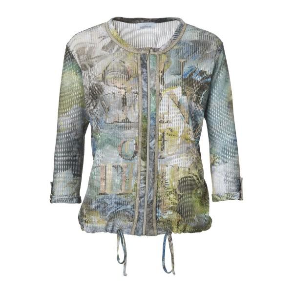 Sommer Jacke mit Netz-Optik von JUST WHITE