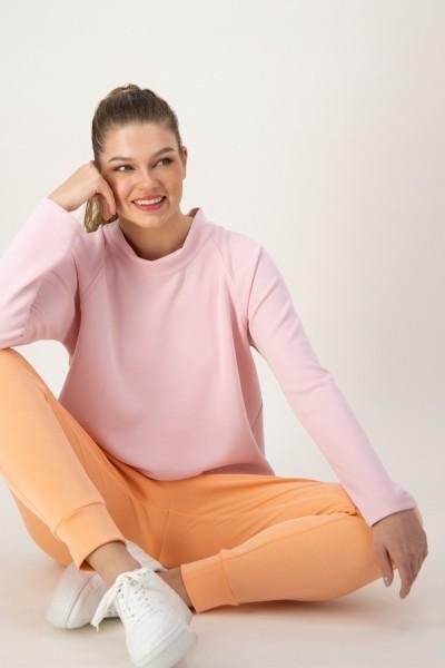 Rosa Sweatshirt mit vielen Kombinationsmöglichkeiten von JUST WHITE