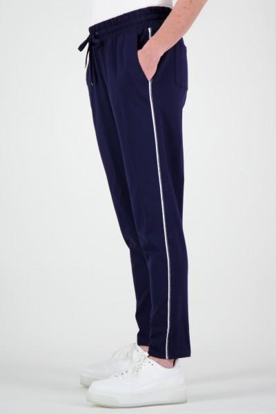 High Waist Sweatpants mit Taping Detail aus Lurex von JUST WHITE